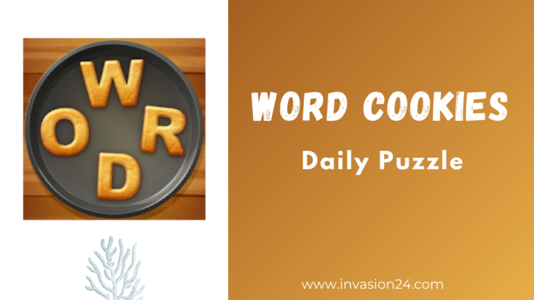 Word Cookies Daily Challenge July 7 2021 Answers - Invasion 24